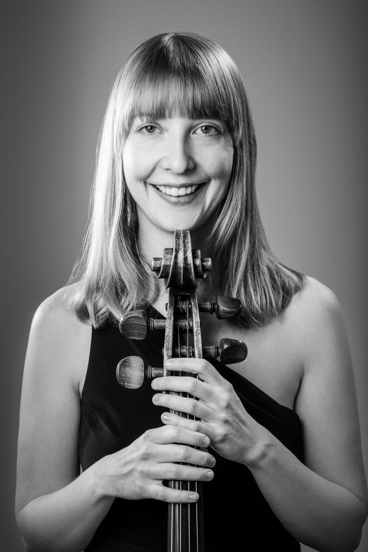 Isabel Gehweiler black and white portrait